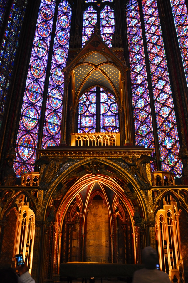 A magnífica Capela Superior