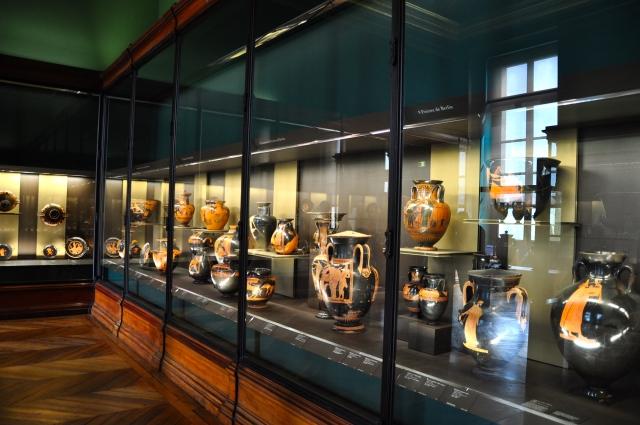 Vasos Gregos do Museu do Louvre