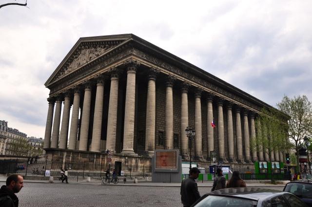 A Igreja de La Madeleine