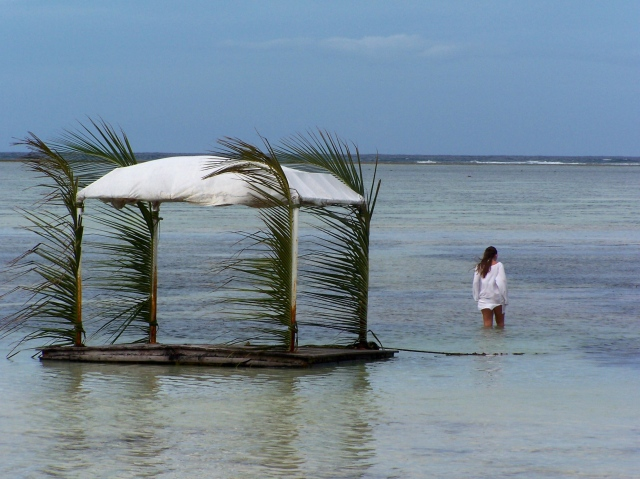 O mar de Zanzibar