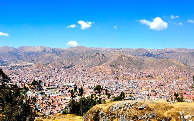 Vista panorâmica de Cusco.