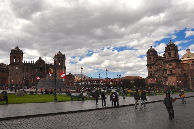 A Praça das Armas