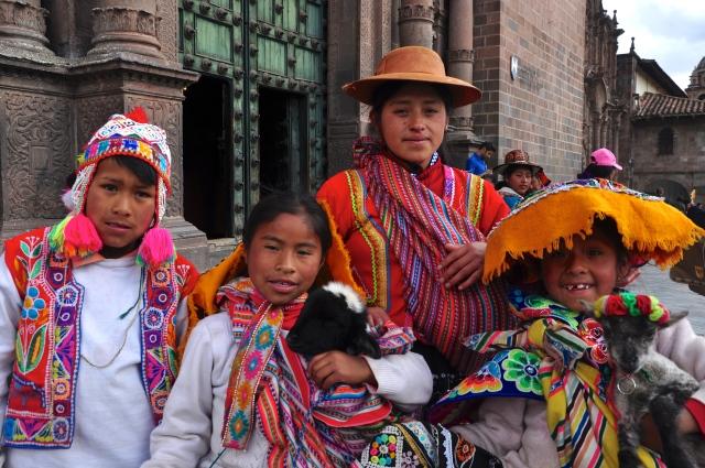 Povos peruanos em Cusco