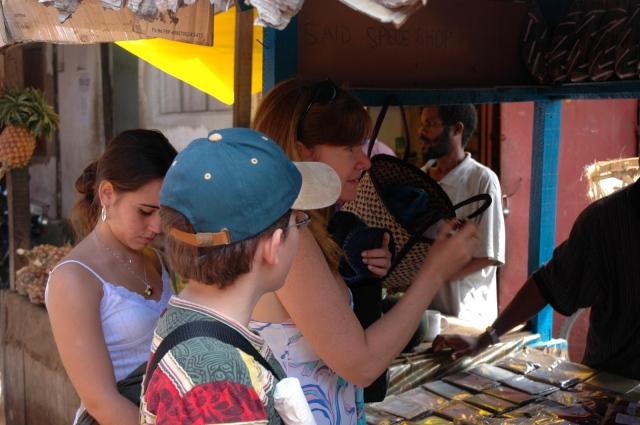 City Tour simples em Zanzibar.