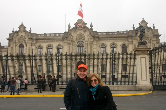 O Palácio do Governo.