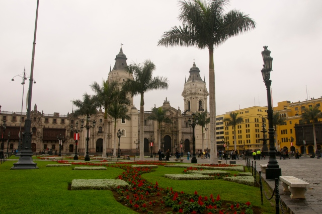 A Praça Mayor por um outro ângulo.