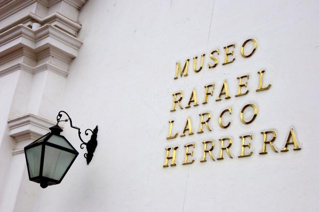 O Museu Rafael Larco Herrera.