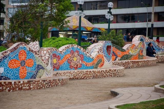 O Parque del Amor em Miraflores