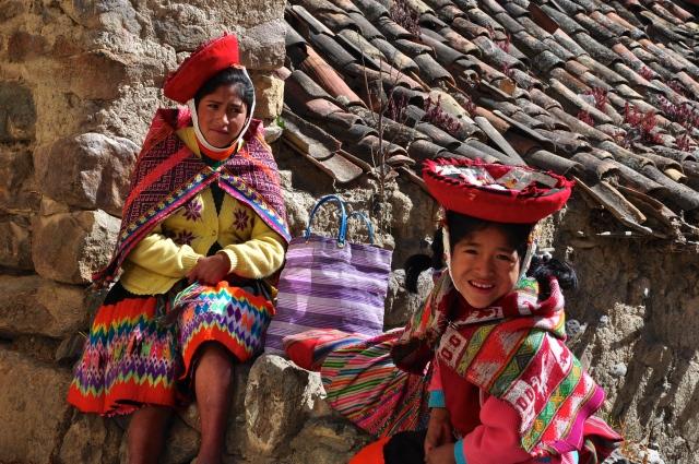 O povo das montanhas peruanas.