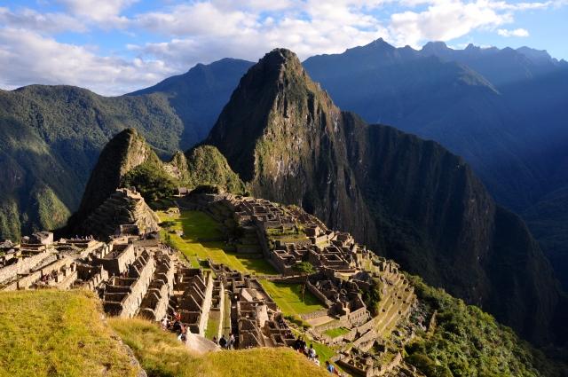 A Cidade Perdida de Machu Picchu.