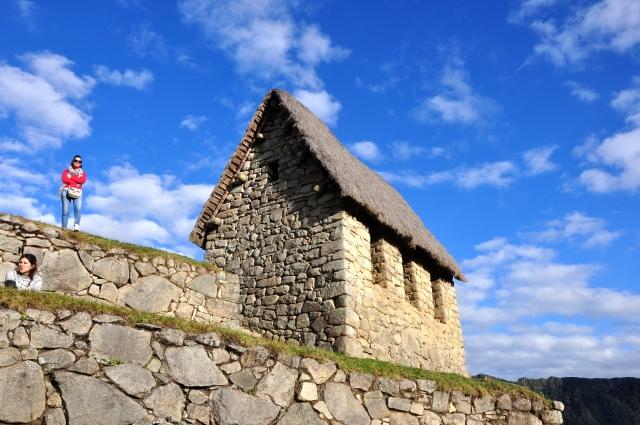 A Cabana do Guardião.