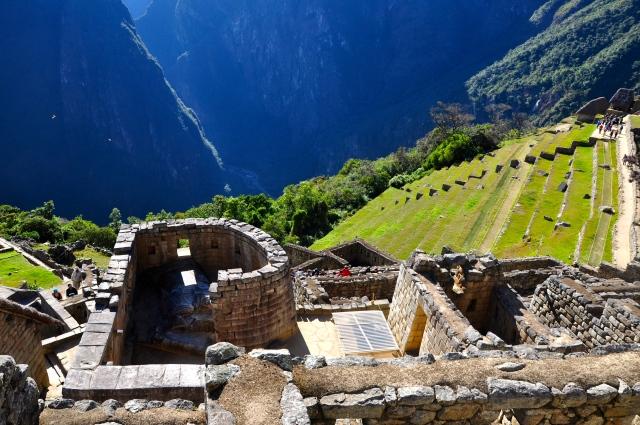O Templo do Sol em Machu Picchu