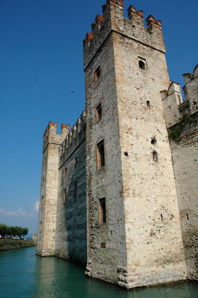 O Castelo Rocca Scaligera