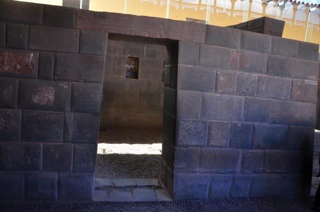 Detalhes do antigo muro de Koricancha