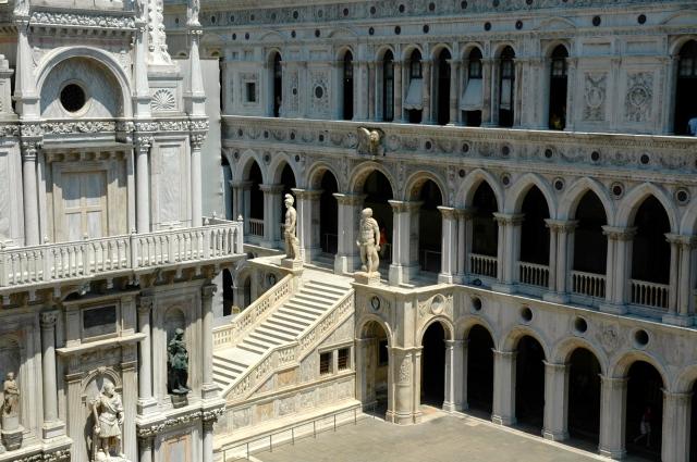 Área interna do Palazzo Ducale