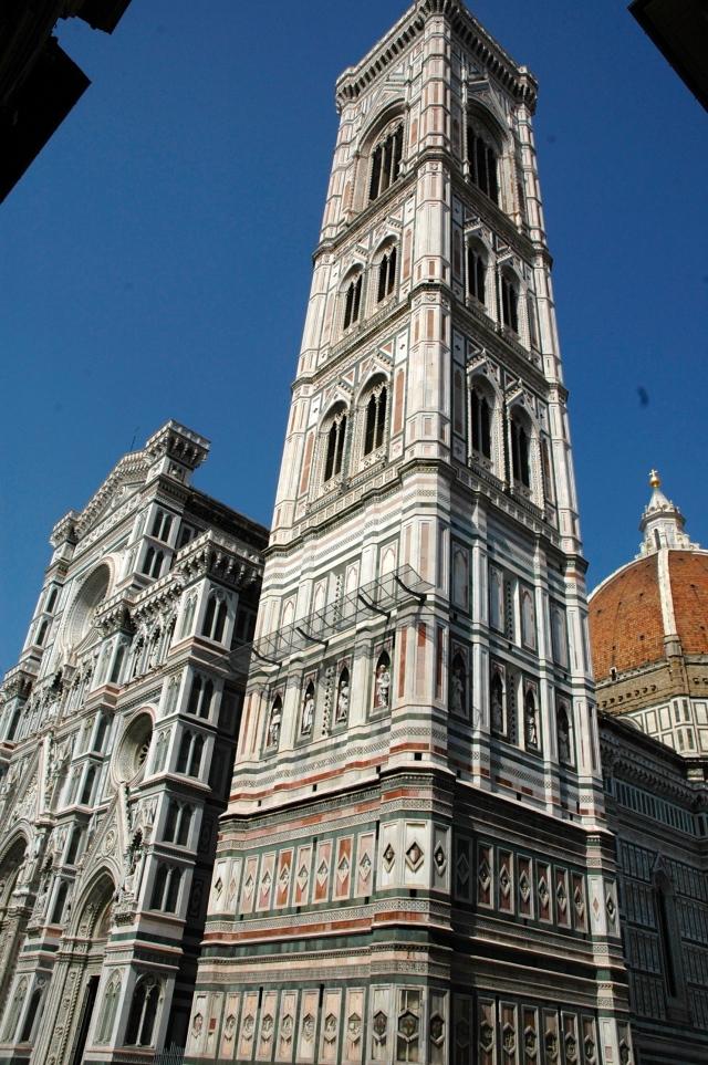 O campanário da Catedral de Florença