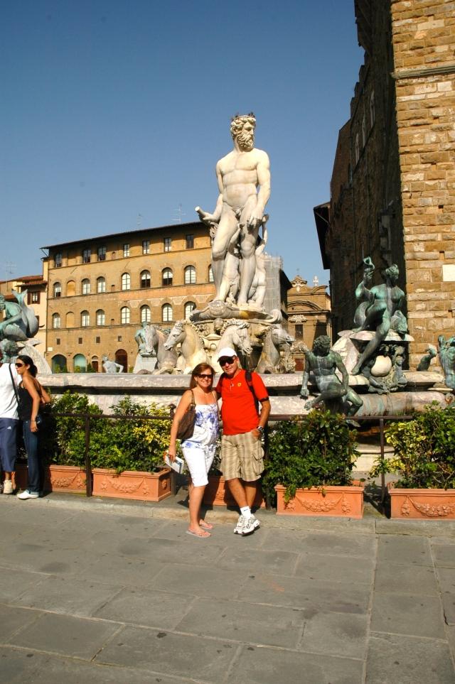 A Piazza della Signoria