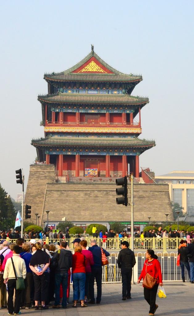 Portão de entrada do antigo muro da Cidade de Pequim.