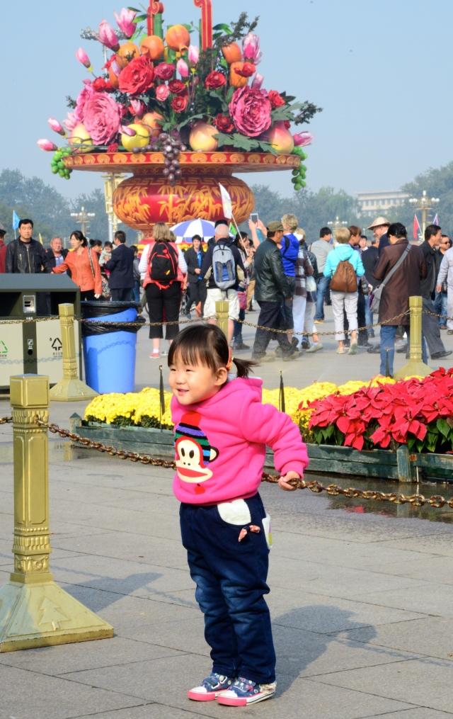 A nova China presente na Praça.