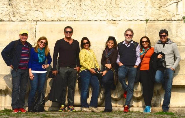 A turma da Via Alegria que fez essa maravilhosa viagem ao Oriente.