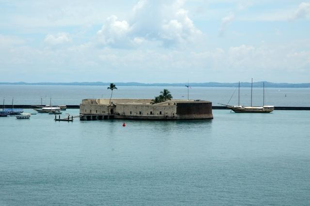 O Forte de São Marcelo.