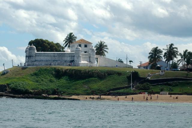 O Forte de Monte Serrat.