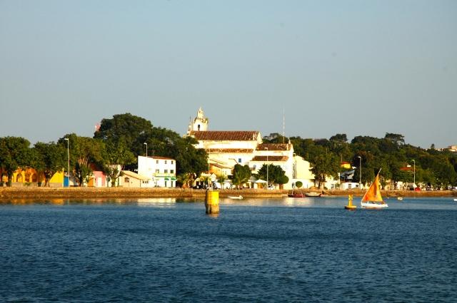 A cidade de Itaparica.