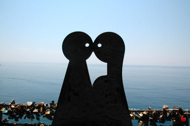 Detalhe na Via dell'Amore