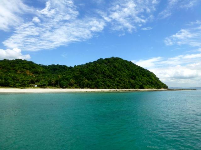 A paradisíaca Praia da Viração.