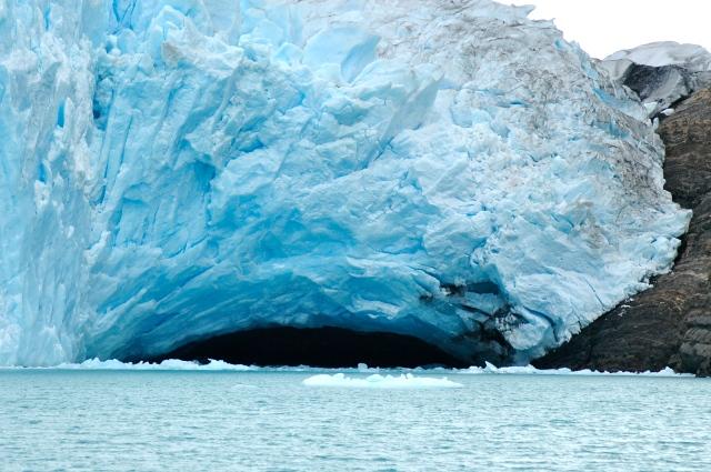 """O """"gigante"""" de gelo."""
