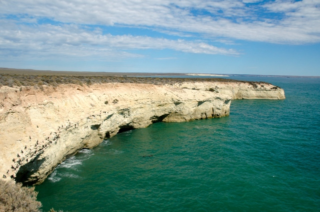 A praia de Punta Loma
