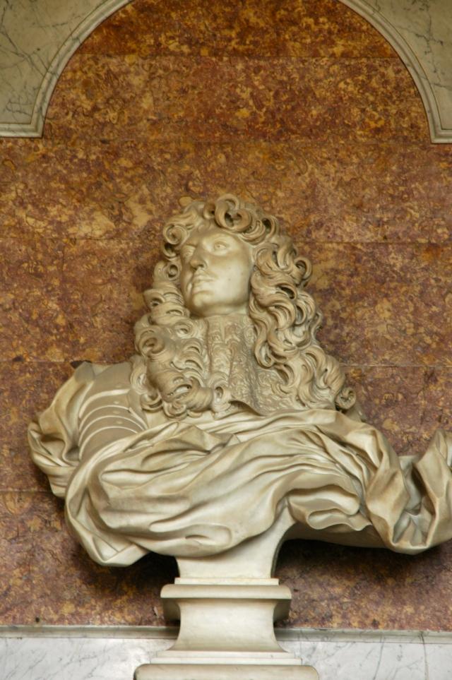 Escultura de Luís XIV feita por Bernini.