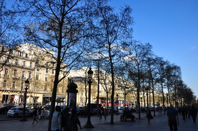 O dia a dia de Paris.