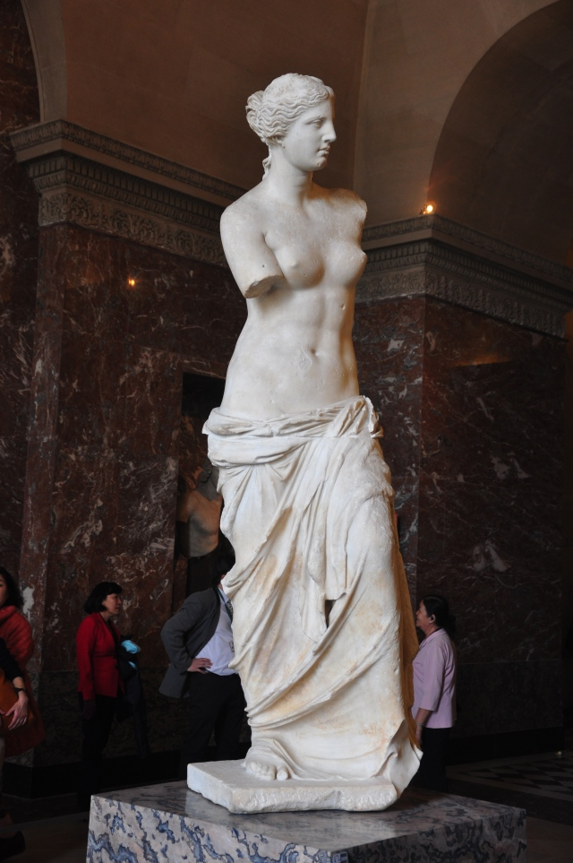 A Vênus de Milo.