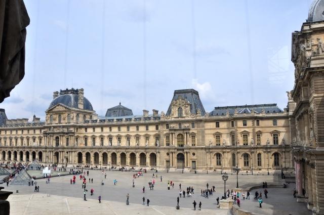 Palácio do Louvre.