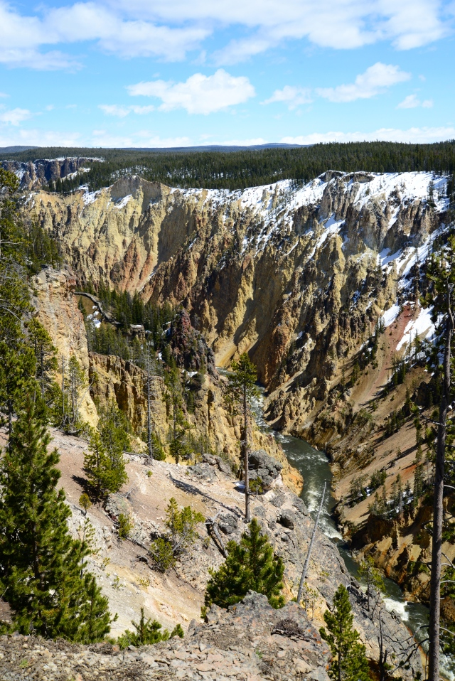 O Grand Canyon do Rio Yellowstone.