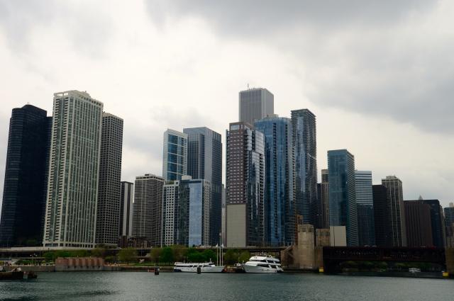 """""""Sky Line"""" de Chicago."""