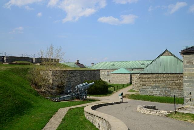As instalações do forte Citadelle.
