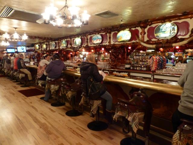 Bar tematizado em Jackson Hole.