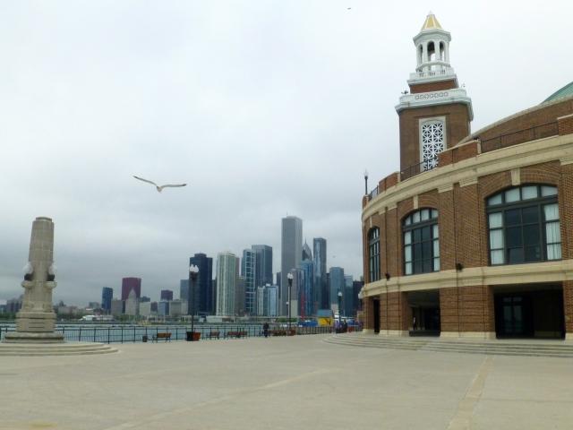 Chicago vista a partir do Navy Pier.