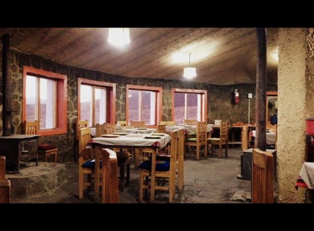 Restaurante do hotel.