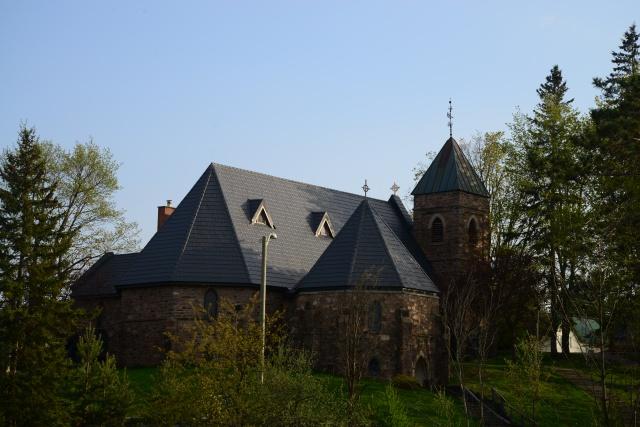 A igreja de Huntsville.