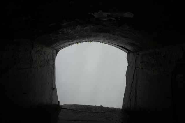 Uma série de túneis leva os visitantes até atrás da Catarata.