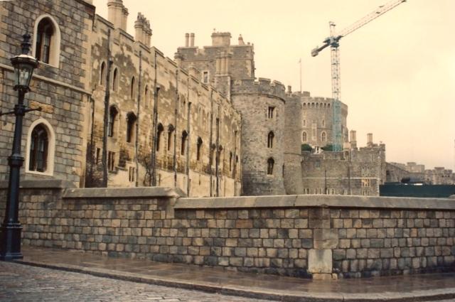 A fortaleza era quase intransponível.