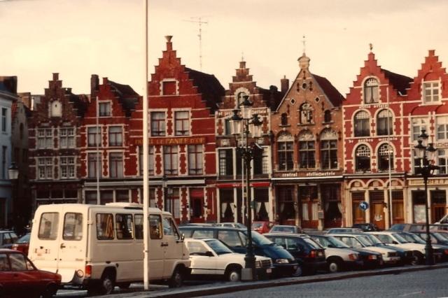 As casas lembram Amsterdam