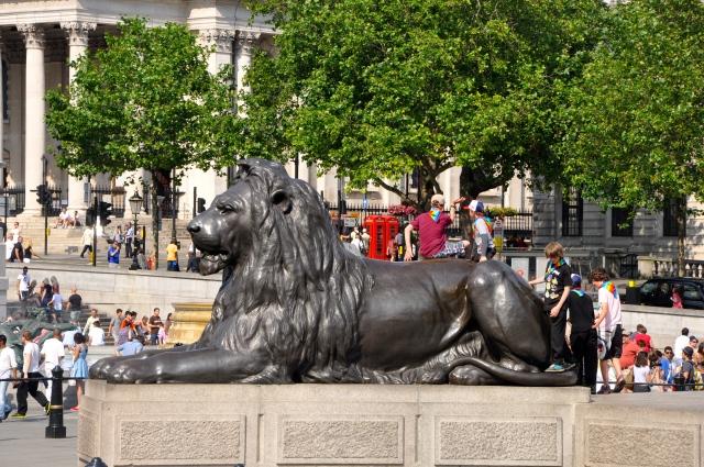 A Trafalgar Square