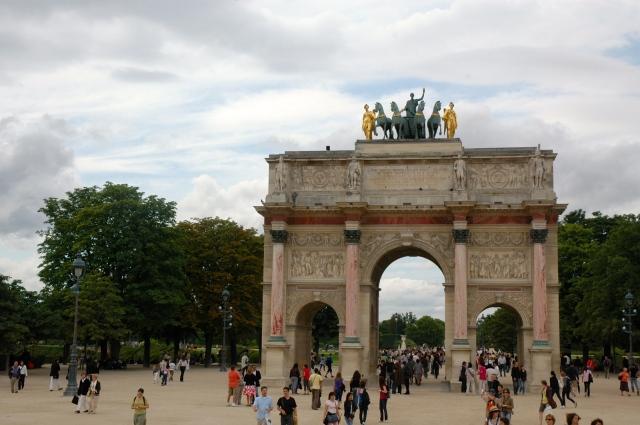 O Arco do Triunfo do Carrossel.