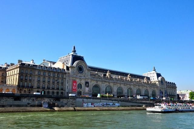 O magnífico prédio do Museu D'Orsay
