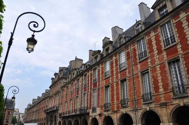 Detalhe da Place des Voges