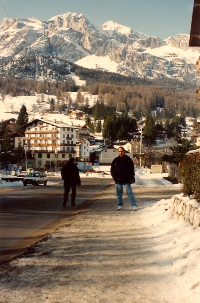 A charmosa cidade de Cortina D'Ampezzo
